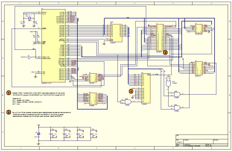 GBK-Pacer CPU Schematic