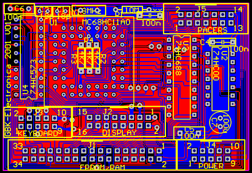 GBK-Pacer PCB